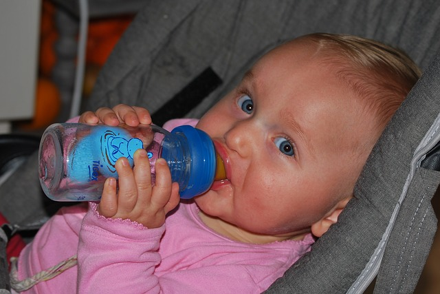 Baby Bottle Feeding