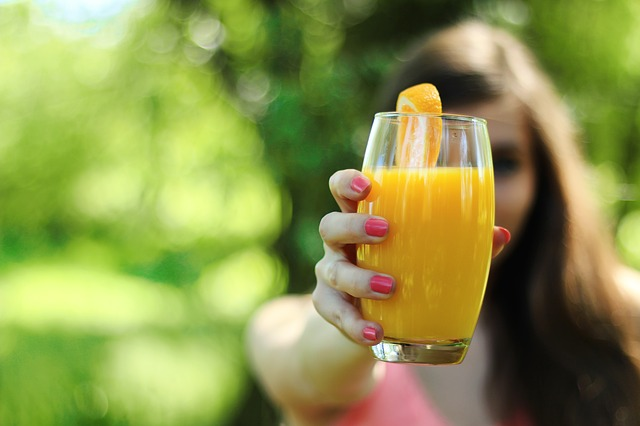 Orange Juice Healthy Diet
