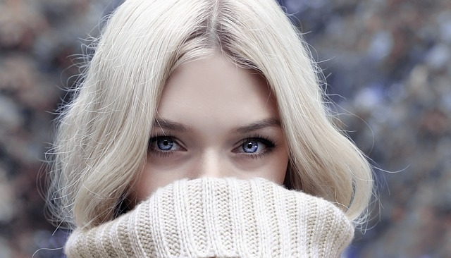 Winter Woman Eyes