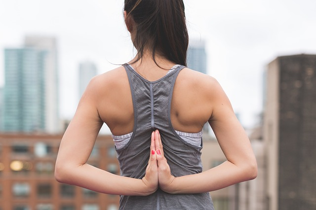 Woman Back Exercise