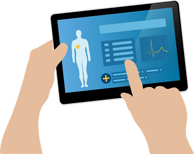 Health App Tablet
