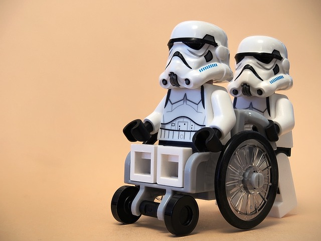 Wheelchair Lego Clone Troopers Star Wars