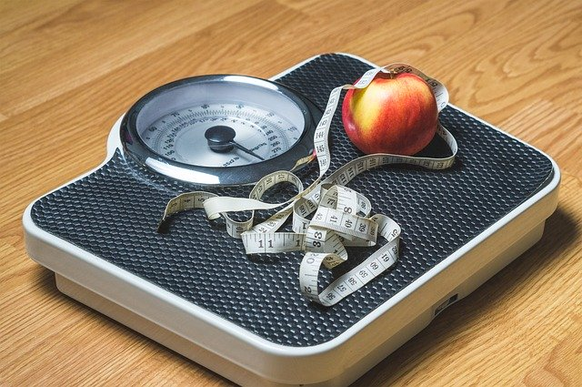 New Year Diet Scale Health
